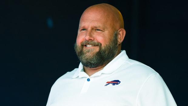 Bills offensive coordinator Brian Daboll
