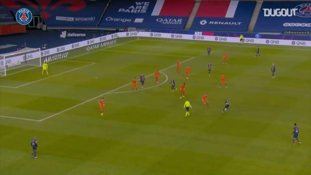 Neymar Jr concludes a superb team effort against Montpellier in Ligue 1