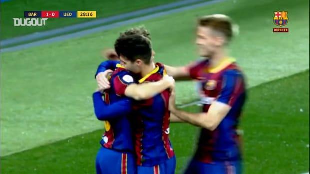 Jandro Orellana's stunning free-kick against Olot