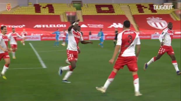 Guillermo Maripan's great header vs Marseille