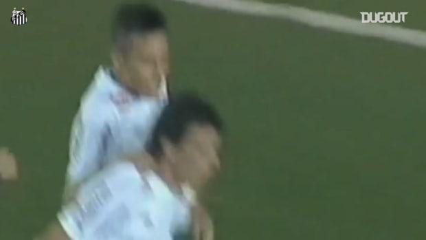 All Santos' goals from 2011 Libertadores title campaign