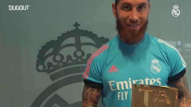 Sergio Ramos in FIFA 21 team of the year