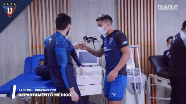 Liga de Quito begin their preseason
