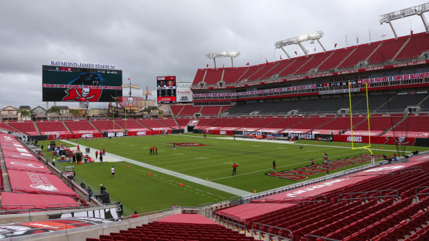 General view of Tampa's Raymond James Stadium