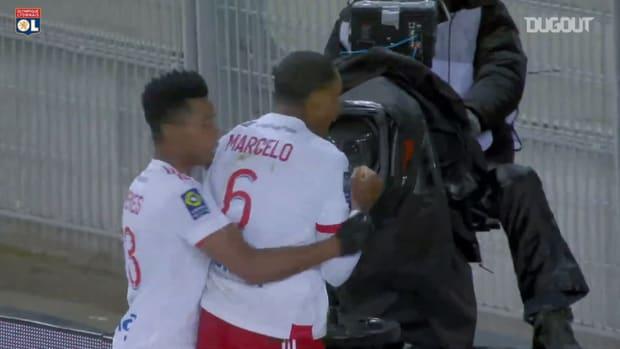 Marcelo's great brace vs Saint-Etienne
