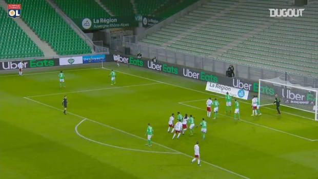 Tino Kadewere's second brace in second game vs Saint-Etienne