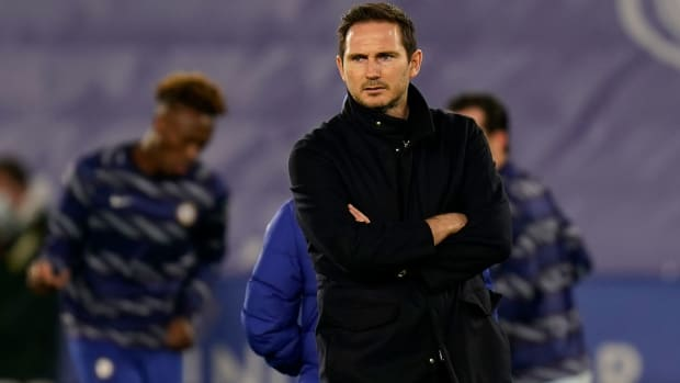 Frank Lampard is out as Chelsea manager