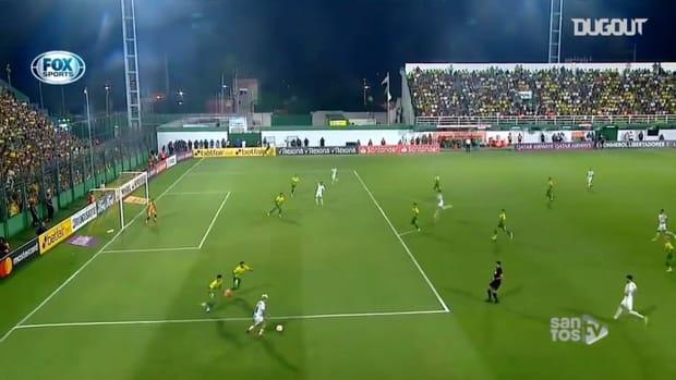 Santos' Libertadores 2020 goals so far