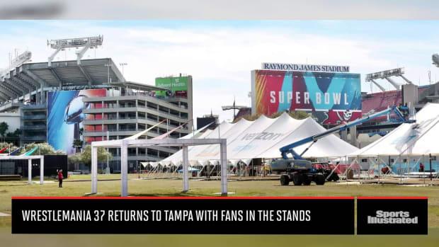 Wrestlemania in Tampa