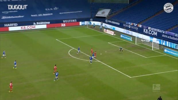 Joshua Kimmich's three assists vs Schalke