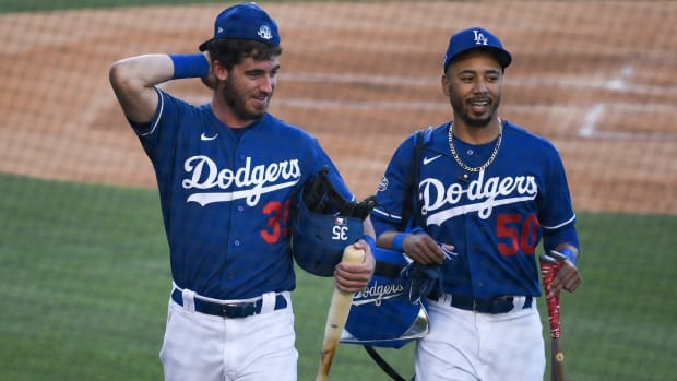 Los Angeles Dodgers Mookie Betts, Cody Bellinger