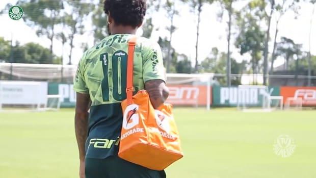 Palmeiras' last training session before face Vasco