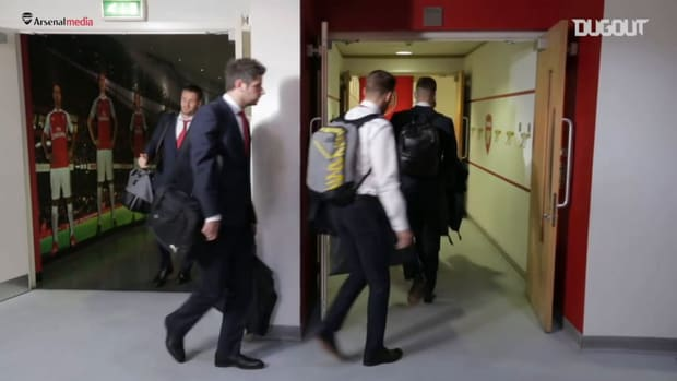Behind the scenes: Arsenal's 3-0 win vs Man United in 2015
