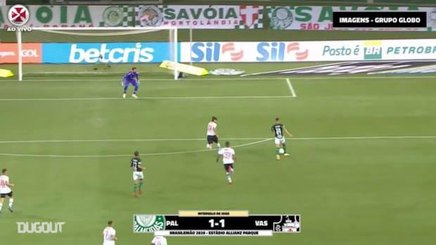 Vasco draw against Palmeiras at Allianz Parque