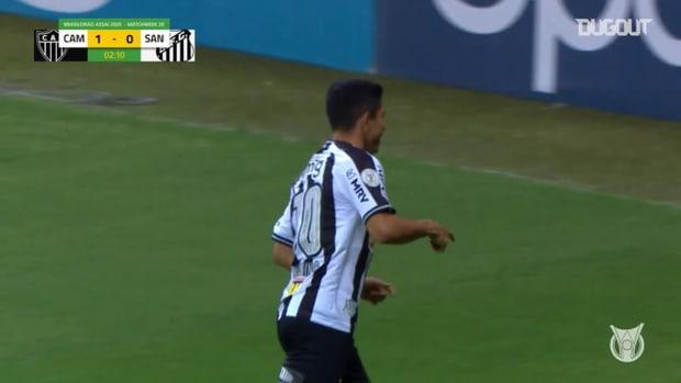 Highlights Brasileirão: Atlético-MG 2-0 Santos