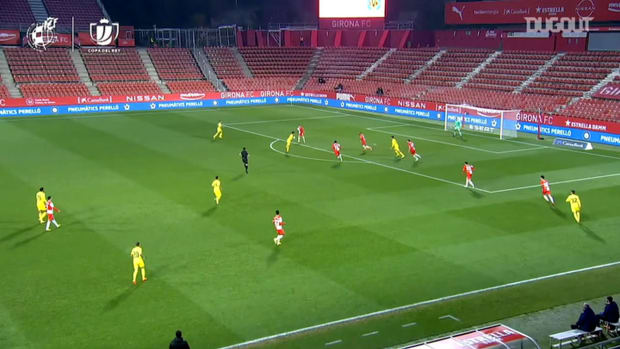 Yéremi Pino scores the winner for Villarreal vs Girona