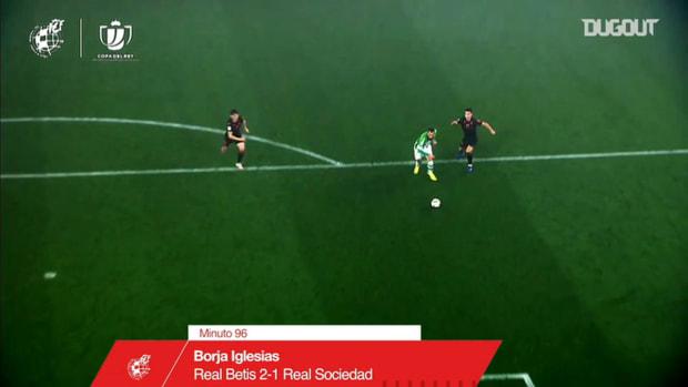 Borja Iglesias's extra time brace to knock out Real Sociedad
