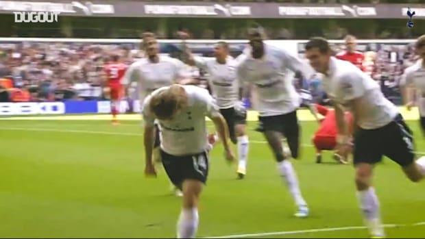 Tottenham's classic home strikes against Liverpool