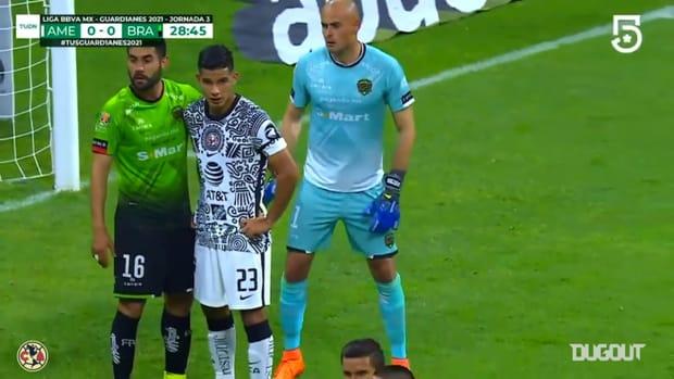 Emanuel Aguilera's great header goal vs FC Juárez