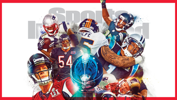February 2021 cover of Sports Illustrated: Teams that have lost the Super Bowl