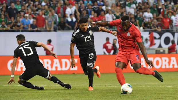 Jozy Altidore in the 2019 Gold Cup final