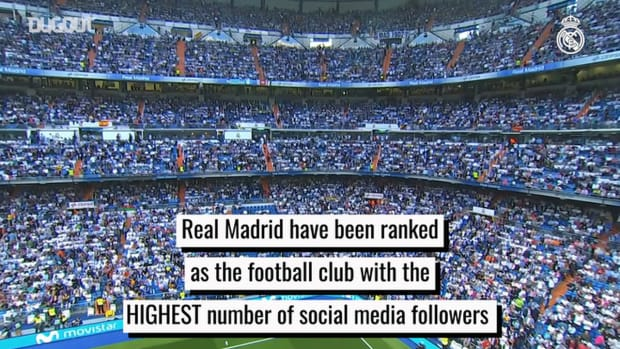 Real Madrid ranked as football club with most social media followers