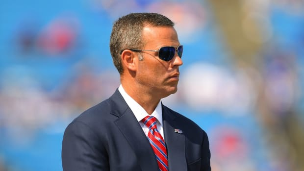 Bills general manager Billy Beane has improvements to make before his team can jump over Kansas City Chiefs and into the Super Bowl.