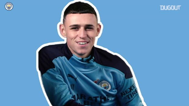 Phil Foden relives best moments after 100 City appearances