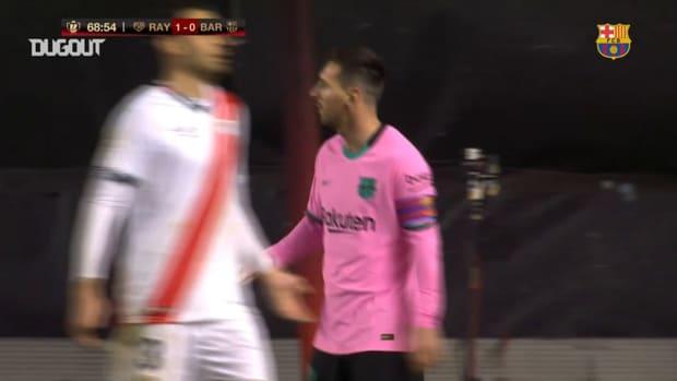 Leo Messi and Frenkie de Jong fire Barcelona into the Copa del Rey quarter-finals