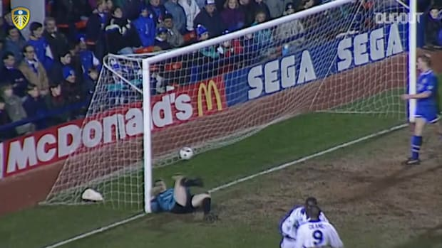 Leeds United's classic goals at Leicester City