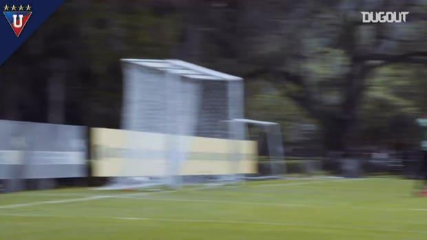 Liga de Quito's preseason friendly vs Universidad Católica