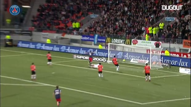 Paris Saint-Germain's best five goals scored in Lorient