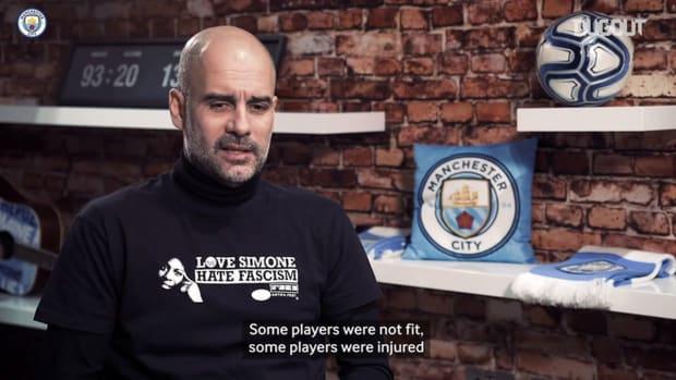 Pep discusses Man City's fine run of form