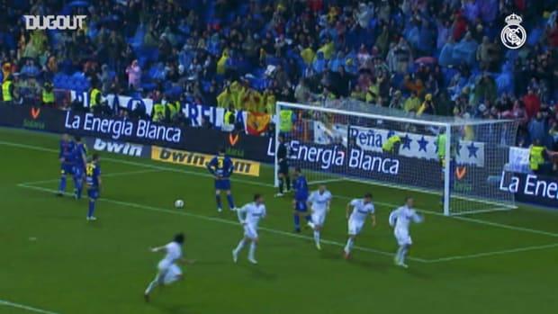 Ricardo Carvalho's goal against Levante in the 2010/11 season