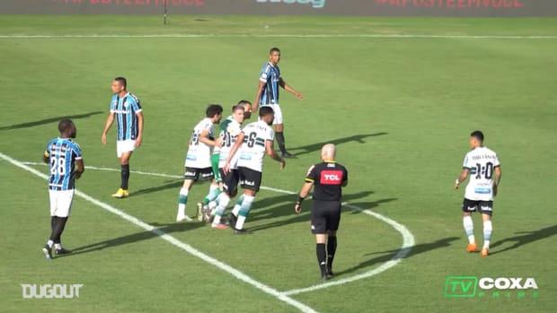 Coritiba draw against Grêmio at Couto Pereira