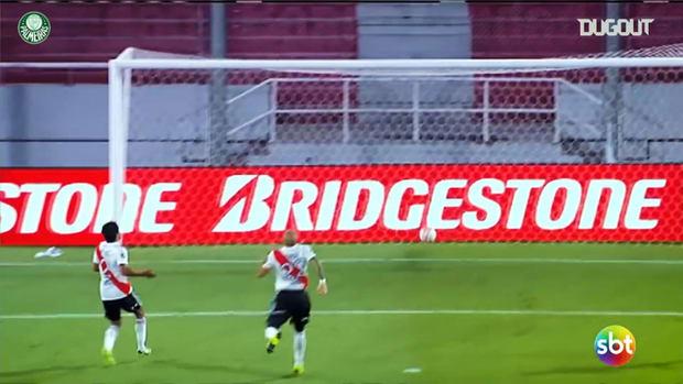 All Luiz Adriano's goals in the 2020 Libertadores title campaign