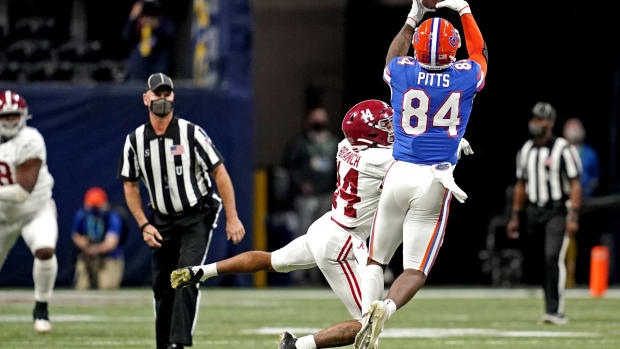 Florida tight end Kyle Pitts could be on Eagles radar
