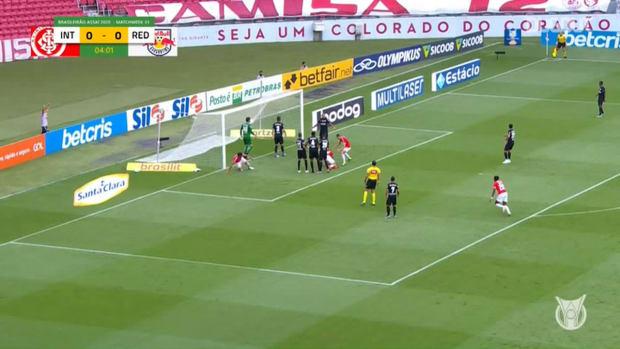 Highlights Brasileirão: Internacional 2-1 Red Bull Bragantino