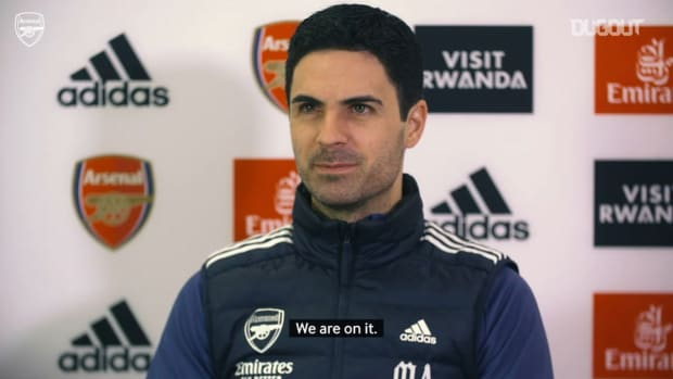 Arteta on transfer deadline day and Premier League form