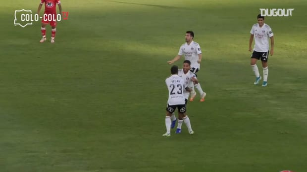 Colo-Colo's two goals to come back against Unión la Calera