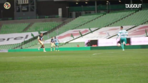 Pitchside: América's 1-1 draw away at Santos