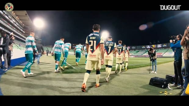 Pitchside: Henry Martín's goal vs Santos