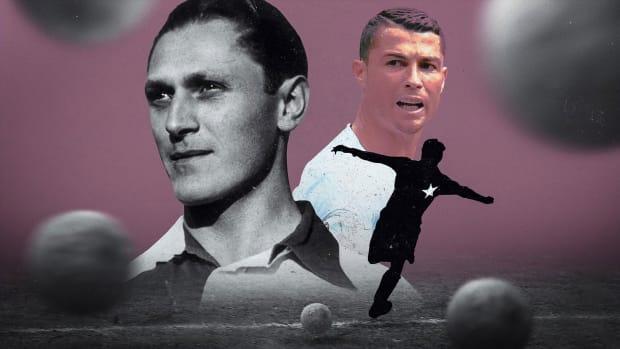 Josef Bican and Cristiano Ronaldo