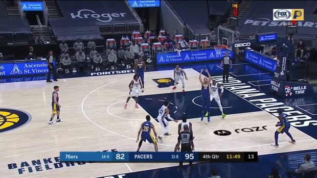 IND vs. PHI: Thybulle deflects multiple passes on same play