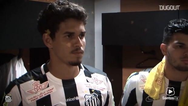 Lucas Veríssimo's Santos farewell