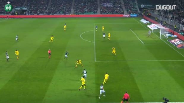 Saint-Etienne put three past Nantes