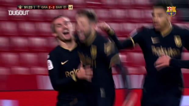 Jordi Alba Completes Extraordinary Copa del Rey Comeback