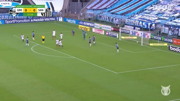 Highlights Brasileirão: Grêmio 3-3 Santos