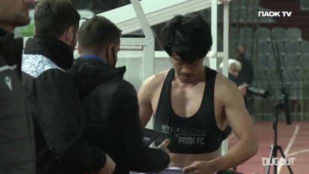 Shinji Kagawa Cam: Larissa 1-2 PAOK