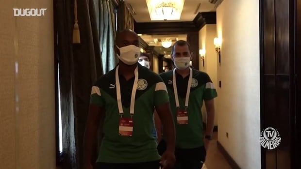 Behind the scenes of the first day of Palmeiras in Qatar